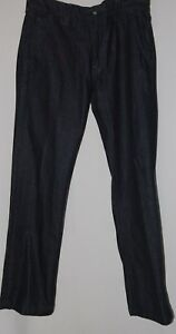 Lucky Brand Mens Dark Blue Denim Jeans 33 Pants Trousers Dungarees