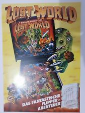 CATALOGO BALLY PINBALL ESCAPE FROM THE LOST WORLD