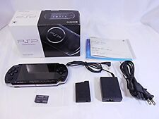 "PSP ""Playstation Portable"" Piano Black (PSP-3000PB) Sony from japan game Console"