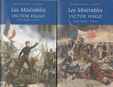 LES MISERABLES - Victor Hugo - Volume 1 & Volume 2 - Wordsworth Classics 1994