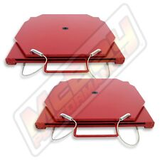 Passenger Car Light Truck Alignment Mild Steel Red Turn Plate Set Hunter FMC