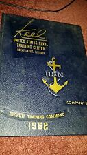1962 UNITED STATES NAVAL CENTER YEARBOOK, COMPANY 278, GREAT LAKES, IL