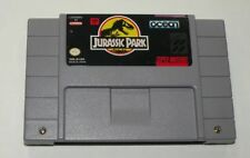 Jurassic Park SNES Game (Super Nintendo) 1993 Cartridge only