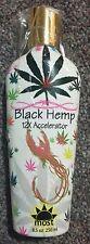 MOST Black Hemp 12xAccelerator Anti-Age Firming Silicone Tanning Lotion +FREEBIE
