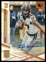 2020 Chronicles Draft Picks Elite Auto Signatures #18 Isaiah Hodgins /99