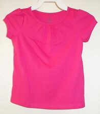 New In Package Lands' End Light Fuchsia Gathered Neck Top ~ Girl's Sz 3T ~Pretty