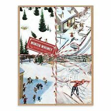 Winter Whimsy Deluxe Notecard Collection by Constantin Alajalov and Galison...
