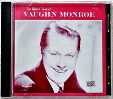 The Golden Voice of Vaughn Monroe CD Smooth Male Vocal Greatest Hits Very Best