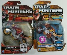 Transformers Reveal the Shield Wreck-gar and Generations Junkheap Deluxe New