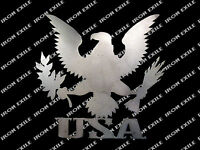 USA Eagle American Pride Symbol Metal Wall Art Sign USA Made