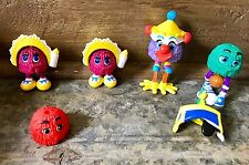 VTG McDonalds Happy Meal Fry Guys & Gals Basketball Player W/ Hats & Disguises