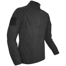Viper Tactical Military Patrol Mens Elite Mid-Layer Fleece Police Security Black
