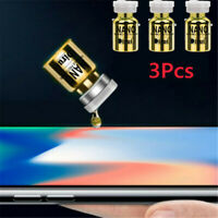 3PCS Upgrade version NANO Liquid Glass Screen Protector Oleophobic Coating Film