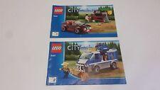 Lego City!!! Instrucciones Solamente!!! Para 4441 perro policía van
