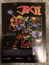 Jak 2 Poster Ad Print Playstation 2