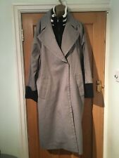 Asos Full Length Coat Size 18 With Hip Length Jacket Inside
