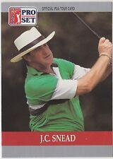 J.C. Snead #99 1990 Pro Set PGA Tour Golf Special Inaugural