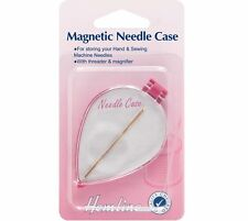 Magnetic Needle Case For Hand Needles, Threader & Magnifier Included