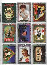Coca Cola Super Premium Complete 60 Card Set Collect-A-Card 1995 Beautiful Art