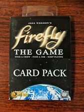 Firefly the Game Card Pack NEW SEALED