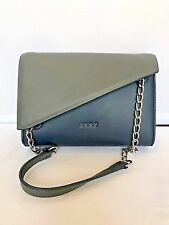DKNY COLORBLOCK MINI MODERN SHOULDER BAG - HEAVY NAPPA LEATHER MSRP 150.00