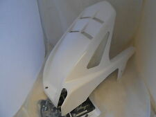 Yamaha YZF R1 2009 2014 Rear Tire Hugger Fender Glossy White - Powerbronze