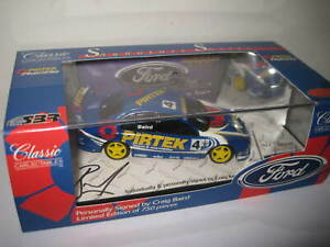CLASSIC 1/43 SIGNATURE SERIES C BAIRD SBR FORD FALCON PERSONALLY SIGNED #43023