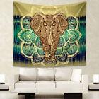 NEW Bohemian Hippie Mandala Wall Hanging Tapestries Beach Mat Blanket Bedspread