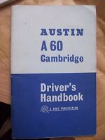 austin cambridge car manual