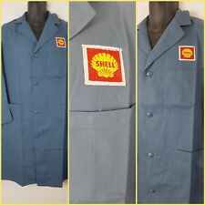70s shell garage mens overcoats dust jacket workwear classic car retro 40 gift