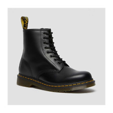 Dr Martens Ankle Boots 1460 Black UK 7 Smooth Leather AirWair Original Classic