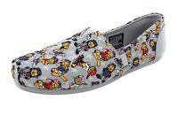Skechers BOBS Women's Slip On Canvas Shoes Plush Hey Batta Batta 32631/GYMT