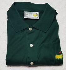 The Masters Slazenger Augusta National Mens Golf Shop Polo Shirt Size L