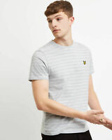 Lyle and Scott Men Fine Stripe T-Shirt - Cotton