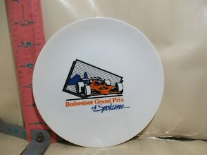 BUDWEISER GRAND PRIX OF SPOKANE LIMITED EDITION PLATE - 205 OF 575 - NO DAMAGE!