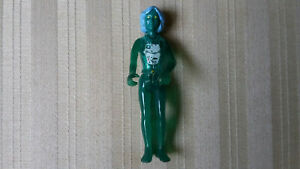 Vintage 1974 Fisher Price Adventure People Green X Ray Woman Rare Action Figure
