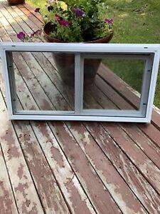 32 X 16 Basement Slider White Vinyl Window New In Box