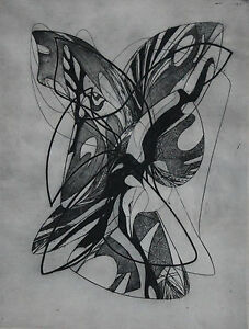 ATELIER 17 ARTIST. DANIEL PHILIP PLATT.