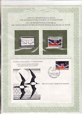 enveloppe timbre neuf et argent association receveurs de la poste  iles Cocos