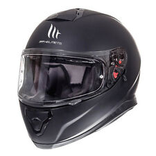 Casco de moto integral MT Thunder 3 SV Solid Matt Black