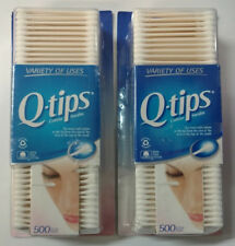 2/Pack - Q-tips Cotton Swabs, 1,000 Swabs Total