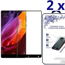 [2x] 3D Full Curve Cover Temper Glass Screen Protecter For Xiaomi Mix