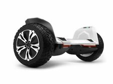 """White G2 WARRIOR PRO 8.5"""" All Terrain Off Road Hoverboard Segway"""