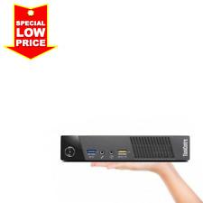 Lenovo ThinkCentre Tiny PC (Intel Core i7 4765T, 180GB SSD, 8GB RAM, WiFi, HDMI)