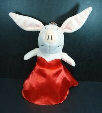 "Olivia The Pig Plush 9"" Red Dress"