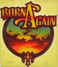 Original Vintage Born Again Religious Iron On Transfer