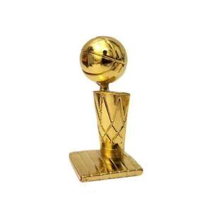 Larry O'Brien NBA Championship Trophy NBA Champions Table Ornament - Mini Trophy