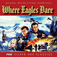 Where Eagles Dare / 1968 - Ron Goodwin - FSM Silver Age 2 CD - Score Soundtrack