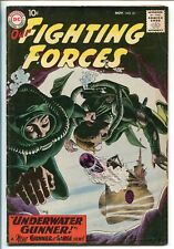 OUR FIGHTING FORCES #51-1959-DC-SILVER AGE-FROGMAN-GUNNER & SARGE-vf minus