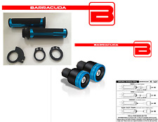 MANOPOLE BLU + CONTRAPPESI B-LUX BLU + ADATTATORI per YAMAHA T-MAX 500